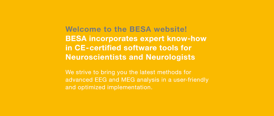 BESA – Brain Electrical Source Analysis